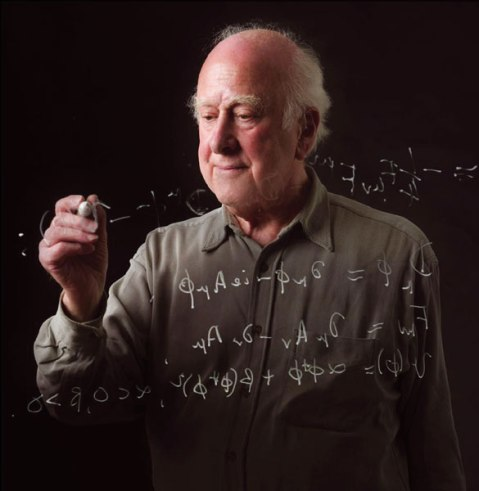 Professor Peter Higgs Image credit: Claudia Marcelloni/ATLAS